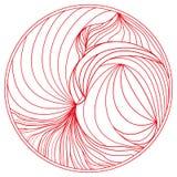 Zendala Arte de Zentangle Fotos de Stock