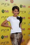 Zendaya Coleman. LOS ANGELES - OCT 22: Zendaya Coleman arriving at the 2011 Variety Power of Youth Evemt at the Paramount Studios on October 22, 2011 in Los royalty free stock photography