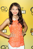 Zendaya Coleman arriving at the Premiere Of Disney Channel's   Stock Image