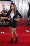 Zendaya at the 'Real Steel' World Premiere, Gibson Amphitheater, Universal City, CA 10-02-11 Stock Image