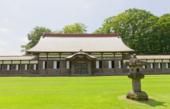 Zendo Hall von Zuiryuji-Tempel in Takaoka, Japan Stockfotografie