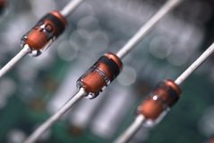 Zener diodes Stock Photo
