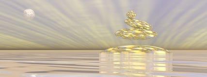 ZENES Stone - 3D rinden Foto de archivo libre de regalías