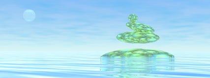 ZENES Stone - 3D rinden Imágenes de archivo libres de regalías