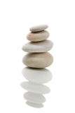 ZENES Stone de equilibrio aislados Fotografía de archivo