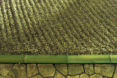 Zengartenhintergrund Stockbild