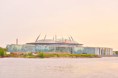 Zenit-Stadion in St Petersburg Stockfotografie