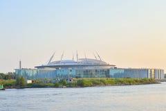 Zenit Stadium In Saint Petersburg. Royalty Free Stock Image