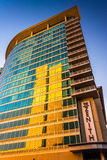 The Zenith Apartments building in downtown Baltimore, Maryland. Royalty Free Stock Photos