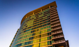 The Zenith Apartments building in downtown Baltimore, Maryland. Royalty Free Stock Images