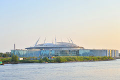 Zenitu stadium w świętym Petersburg Obraz Royalty Free