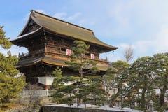 Zenkoji寺庙 免版税库存图片