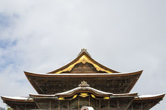 Zenkoji Buddhist Temple Tenshu Royalty Free Stock Photo