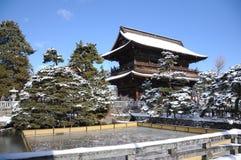 Zenkoji Nagano, Japan Arkivbild