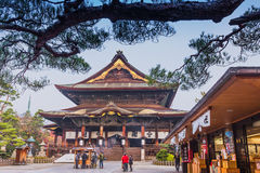 Zenkoji Temple, Nagano, JAPAN. Royalty Free Stock Photos
