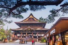 Zenkoji Temple, Nagano, JAPAN. Royalty Free Stock Photos