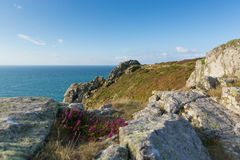 Zennor Head Cornwall England UK near St Ives Royalty Free Stock Images