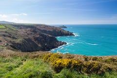 Zennor Head Cornwall England Stock Photos