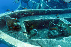 Zenobia Ship Wreck near Paphos Stock Image