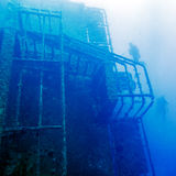Zenobia Ship Wreck near Paphos, Cyprus Stock Photo