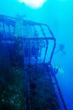 Zenobia Ship Wreck near Paphos, Cyprus Stock Images