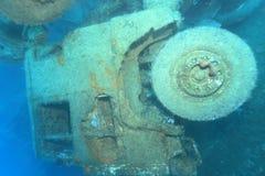 Zenobia statku wrak blisko Paphos obrazy royalty free