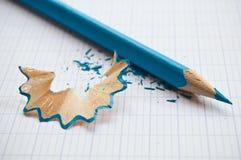 Zensieren Sie und Schnitzel auf Notizbuch Stockbilder