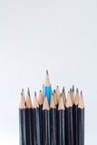 zensiert im schwarzen Bleistift auf lokalisiert Lizenzfreie Stockfotografie