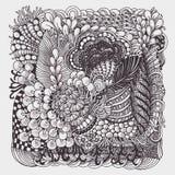 Zentangle стоковые изображения