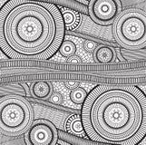 Zentangle 免版税图库摄影