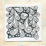 Zentangle art doodle tattoos. Hand drawing zentangle element.Graphic art style.Vector illustration.The best for your commercial design,textiles,posters,postcard stock image