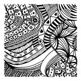 Zentangle background Royalty Free Stock Images