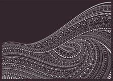 Zentangle bakgrund Fotografering för Bildbyråer