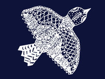 Zentangle bird Royalty Free Stock Photo