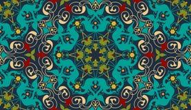 Zentangle diseñó el elemento geométrico del modelo del ornamento Ornamento tradicional de Oriente Boho diseñó Geométrico abstract Imagenes de archivo