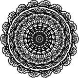 Zentangle esperançoso da mandala da vida ilustração royalty free