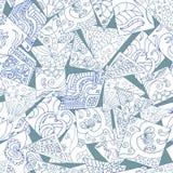 Zentangle geométrico Foto de Stock Royalty Free