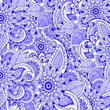 Zentangle meditation floral background. Vector art. Asian oriental motives. Textile, print.  royalty free illustration