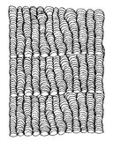 Zentangle ornament, sketch for your design Royalty Free Stock Image