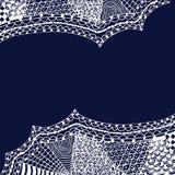 Zentangle pattern Royalty Free Stock Photography