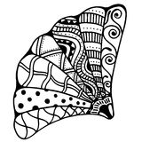 Zentangle stylized shell Stock Images