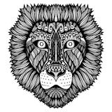 Zentangle stylized Tiger face. Stock Photos