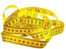 Zentimeter gelbe Farbe Lizenzfreie Stockfotografie