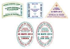 Zentralamerika lizenzfreie abbildung