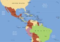 Zentralamerika. Lizenzfreies Stockfoto