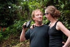Zentralamerikanische Touristen lizenzfreies stockbild