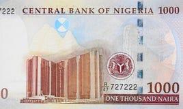 Zentralbank Nigeria-Unternehmenshauptsitzes in Abuja auf Nigeri lizenzfreies stockbild