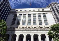 Zentralbank-Querneigung von San Francisco Stockfotografie