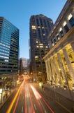 Zentralbank-Querneigung von San Francisco stockfotos