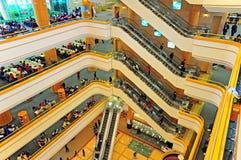 Zentrale Bibliothek Hong Kongs Stockfotografie